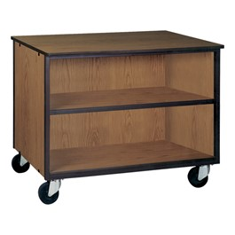 Adjustable-Shelf Storage Cabinet w/out Doors - Reinforced Frame