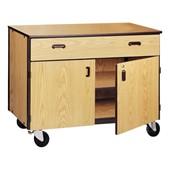 Wood Storage Cabinets
