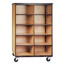 Mobile Cubby Storage Cabinet w/out Doors - Standard Frame