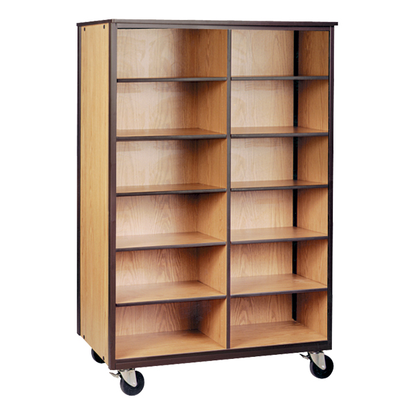 Mobile Cubby Storage Cabinet W/out Doors   Reinforced Frame