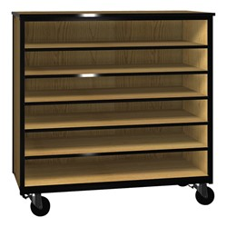Six Shelf Storage Cabinet W Out Doors Standard Frame At School Outers
