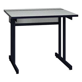 "Double Pedestal Base Computer Table (30"" W x 36\"" L)"