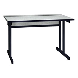 "Double Pedestal Base Computer Table (30"" W x 48\"" L)"