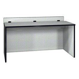 "Panel Base Computer Table (30"" W x 60\"" L)"