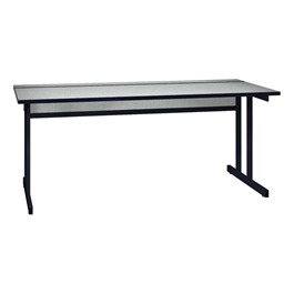 "Double Pedestal Base Computer Table (30"" W x 72\"" L)"