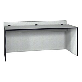 "Panel Base Computer Table (30"" W x 72\"" L)"
