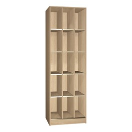 15-Compartment Open Instrument Storage Unit