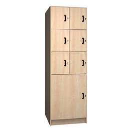 Seven-Compartment Instrument Lockers