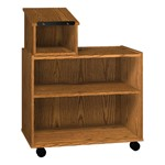 Glacier Series Lectern Cart