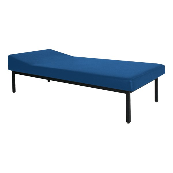 First Aid Recovery Cot w/ Headrest<br>Shown in Navy Blue