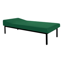 First Aid Recovery Cot w/ Headrest<br>Shown in Forest Green