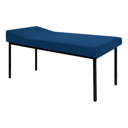 First Aid Treatment Table w/ Headrest<br>Shown in Navy Blue