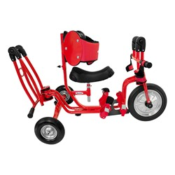 Tricycle Zero - Folded for storage