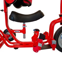 Tricycle Zero - Padded seat & foot buckles