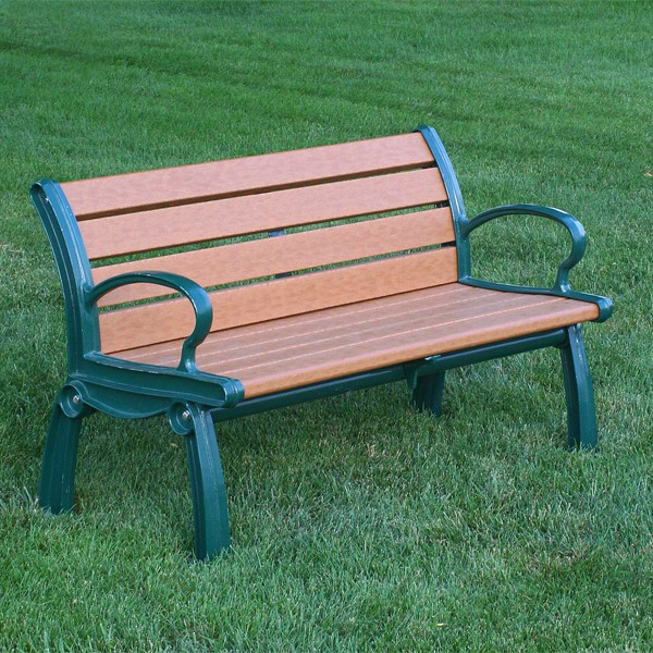 Heritage Recycled Plastic Outdoor Bench