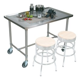 Cucina Mariner Food Prep Mobile Table