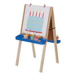 Double Adjustable Easel (Youth Height)