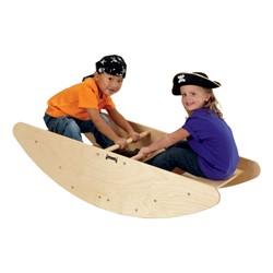 Jonti-Craft Rocking Boat Steps (Shown as rocking boat)
