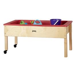 "Sensory Sand & Water Table w/ One Tub & Lid (22\"" W x 42\"" L x 20\"" H)"