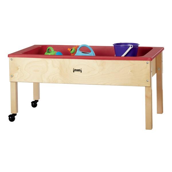 "Sensory Sand & Water Table w/ One Tub & Lid (22"" W x 42"" L x 20"" H)"