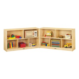 Baltic Birch Fold-n-Lock Storage Unit - Low