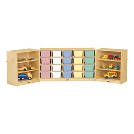 20-Tray Fold & Lock Storage Unit w/o Trays - Trays not included
