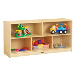 Baltic Birch Toddler Single Mobile Storage Unit