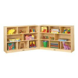 Baltic Birch Fold-n-Lock Storage Unit - Super-Sized - Supplies not included