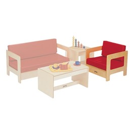 Red Living Room - Easy Chair
