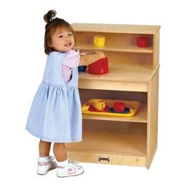 Baltic Birch Toddler Play Kitchen - Cupboard