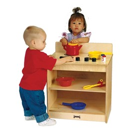 Baltic Birch Toddler Play Kitchen - Stove