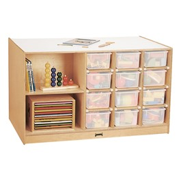 Mobile Storage Island w/o Trays - Trays & accessories not included