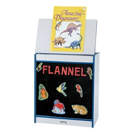Rainbow Accents Big Book Easel w/ Flannel Surface