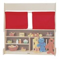 Dramatic Play Center Curtains