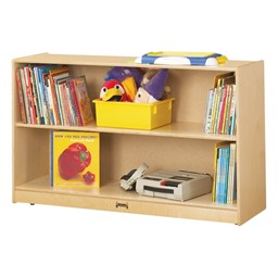 """Mobile Adjustable Bookcase w/out Lip (29"""" H)"""