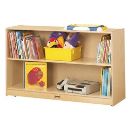 """Mobile Adjustable Bookcase w/out Lip (29\"""" H)"""