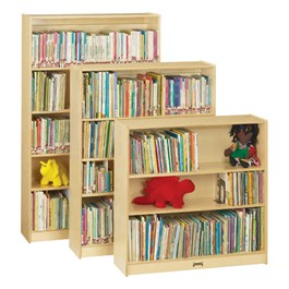 Jonti-Craft Baltic Birch Bookcases