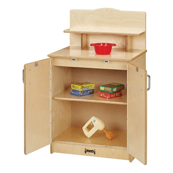 Culinary Creations Play Kitchen - Complete Set - Cupboard - Open