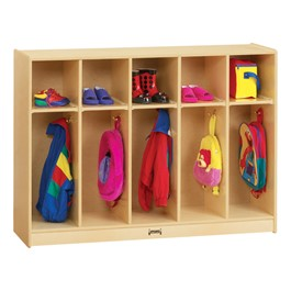 Baltic Birch Toddler Coat Locker