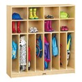 Baltic Birch Neat-n-Trim Eight-Section Locker