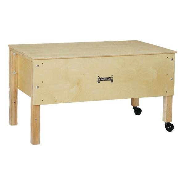 "Sensory Sand & Water Table w/ One Tub & Lid (23"" W x 36 1/2"" L x 20"" H)"