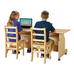 Apollo Double Computer Desk
