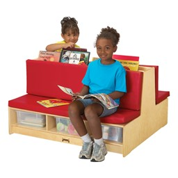 Read-a-Round Couch - Red