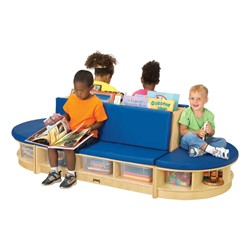 Read-a-Round Three Piece Set - Blue