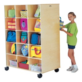Baltic Birch 30-Opening Locker Unit