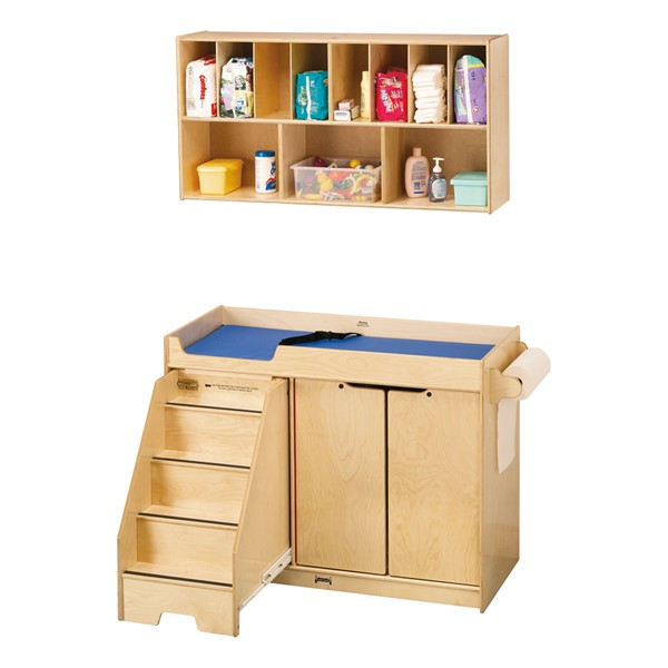 Changing Table w/ Stairs & Diaper Organizer