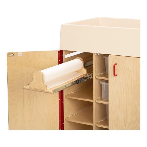 Diaper Changer w/ Stairs - Dispenser