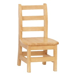 """Ladder Back Chair - Set of Two (10\"""" Seat Height)"""