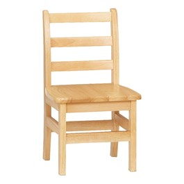 """Ladder Back Chair - Set of Two (12\"""" Seat Height)"""
