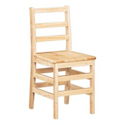 "Ladder Back Chair - Set of Two (18"" Seat Height)"